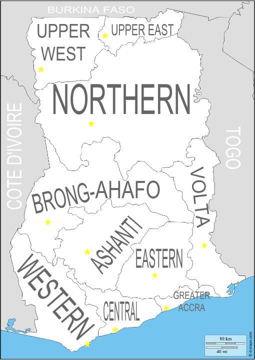 Ghana Regions (1)